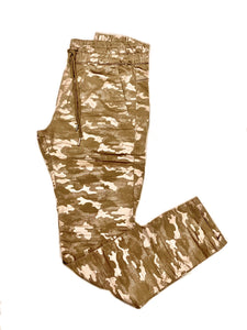 Shely Pant - Gold Camo-Sea Biscuit Del Mar