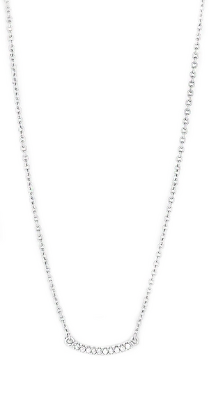 Shimmer Mini Necklace - Silver-Sea Biscuit Del Mar