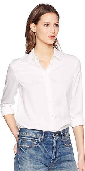Slim Fitted Popover Shirt-Sea Biscuit Del Mar