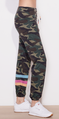 Stripes Dark Camo Pant-Sea Biscuit Del Mar
