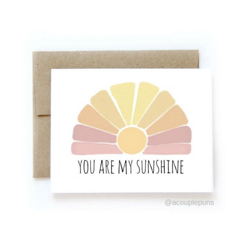 Sunshine Card-Sea Biscuit Del Mar