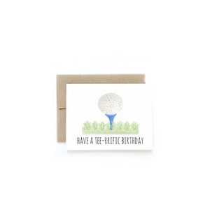 Tee-rific Birthday Card-Sea Biscuit Del Mar