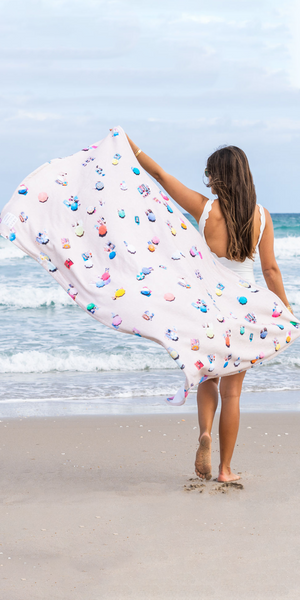 The Beach Towel-Sea Biscuit Del Mar