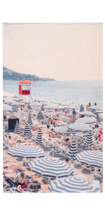 The French Riviera Towel-Sea Biscuit Del Mar