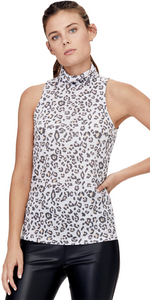 Tori Sleeveless Turtleneck-Sea Biscuit Del Mar