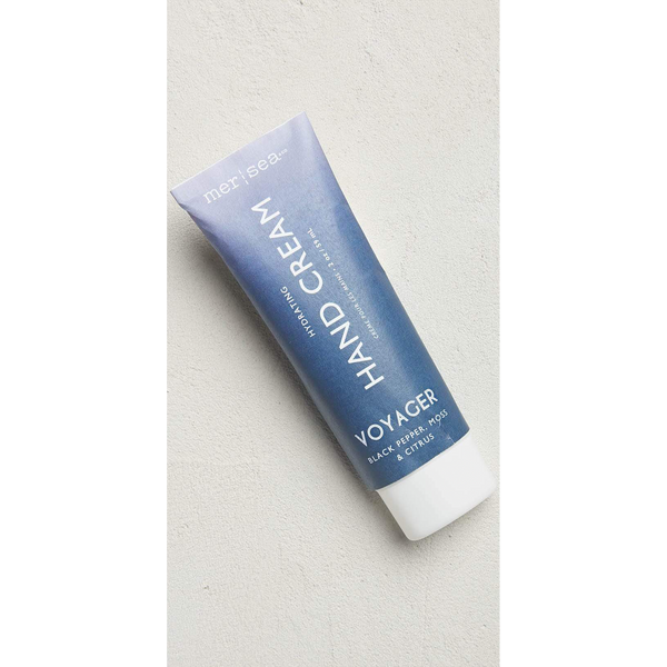 Voyager Travel Hydrating Hand Cream-Sea Biscuit Del Mar