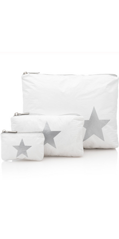 WHITE STAR Pack - Set of Three-Sea Biscuit Del Mar