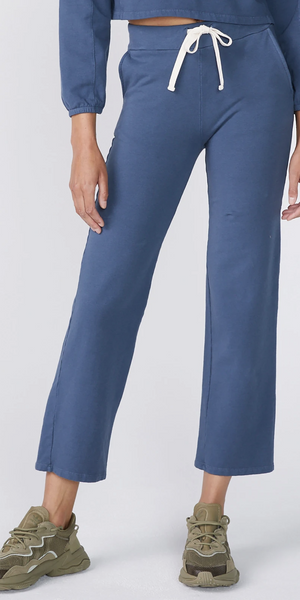 Wide Leg Sweats-Sea Biscuit Del Mar