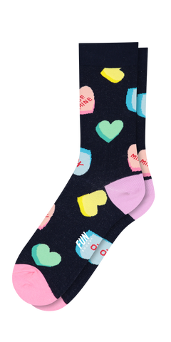 Women's Candy Crew Sock-Sea Biscuit Del Mar