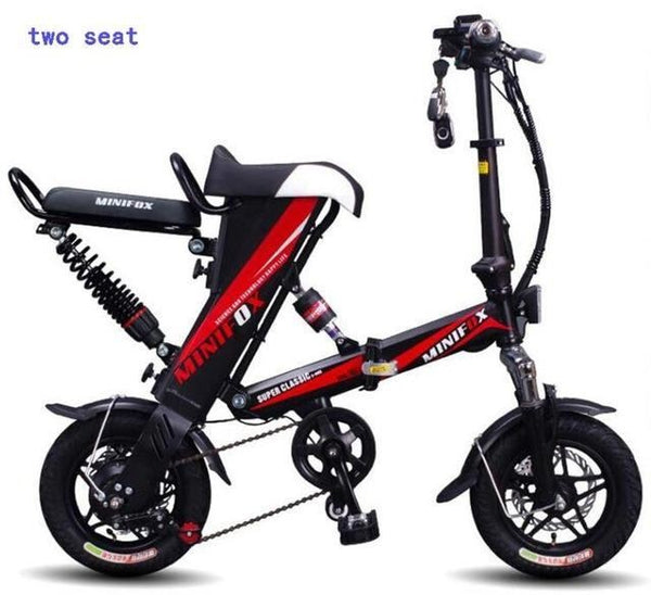 2018 Mini Folding Electric Bike Lithium Battery 250 350w Motor E Bike
