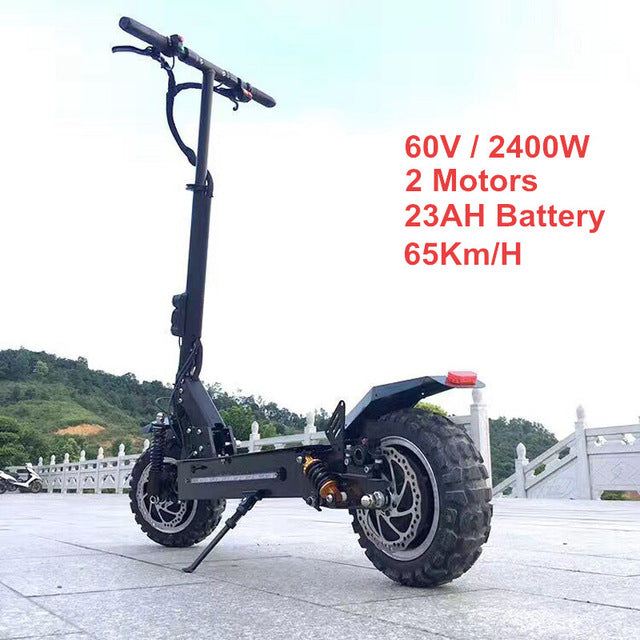 Folding Electric Scooter >> Flj 11 Inch Off Road Foldable Electric Scooter Next Up Trends