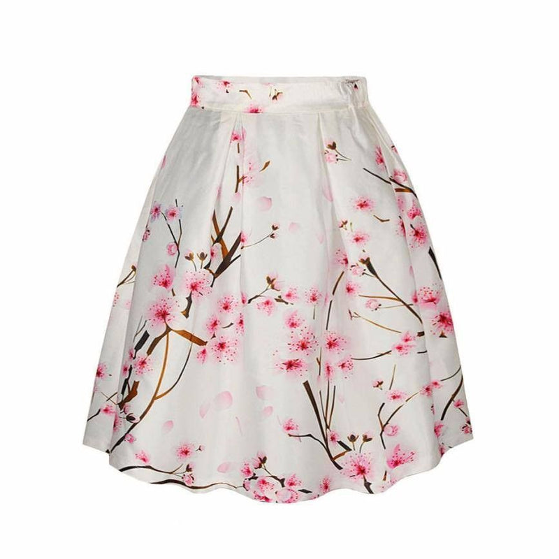 How Cherry Blosson Skirts Can Make You Look Vivacious