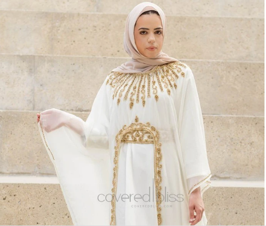 Fashionable Women's Kaftan Design for A Formal Look