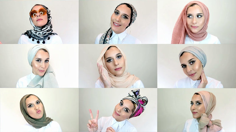 Top 5 Different Ways to Wear Islamic Scarf