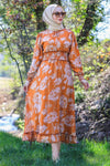 Haleh dress - Orange