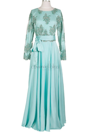 Daliah Mint formal dress