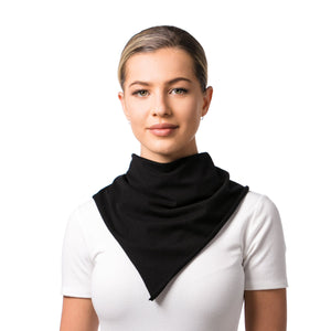 Convertible Mask Scarf Black