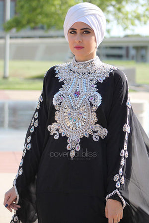 Mystical Pearls 'n Cape Kaftan