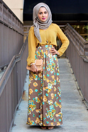Golden Sunset Skirt