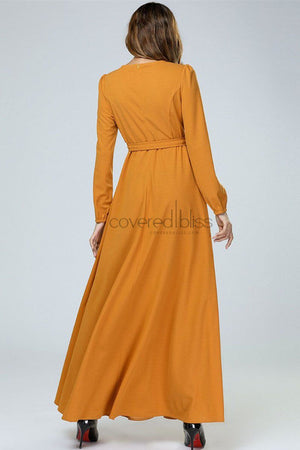 Sun Flower Yellow Dress
