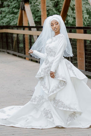 Bridal Cascade Dress