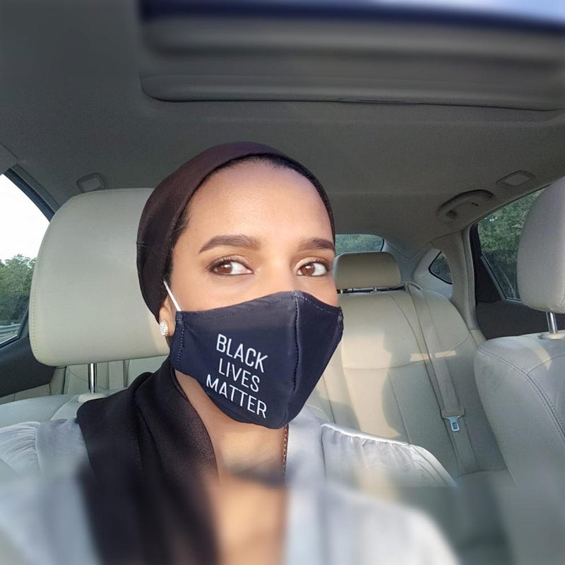 """BLACK LIVES MATTER"" - Protective Breathable Face Mask"