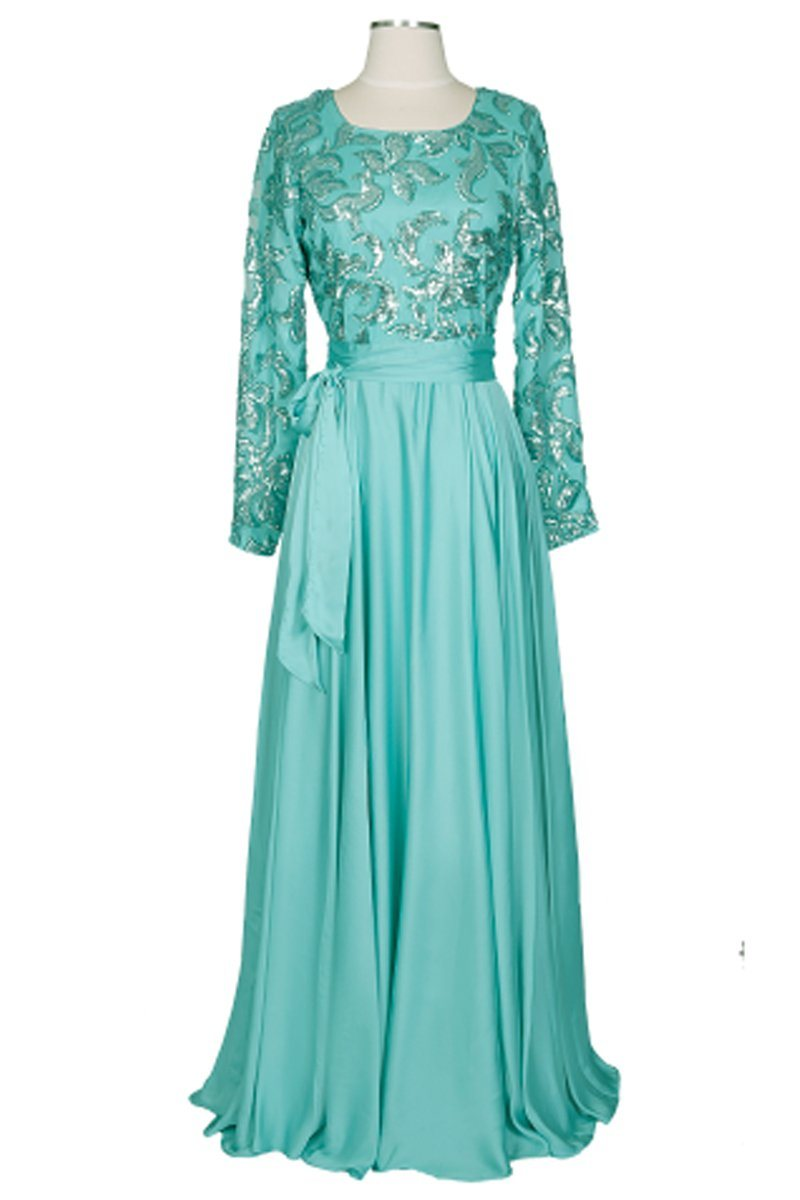 SANIA MINT Maxi Dress