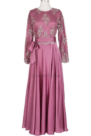 Daliah Plum formal dress