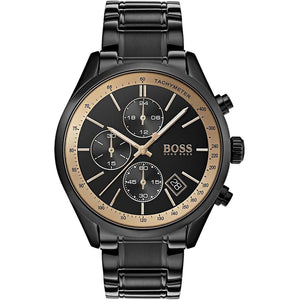 Hugo Boss Grand Prix Chronograph Black Dial Men's Watch 1513578