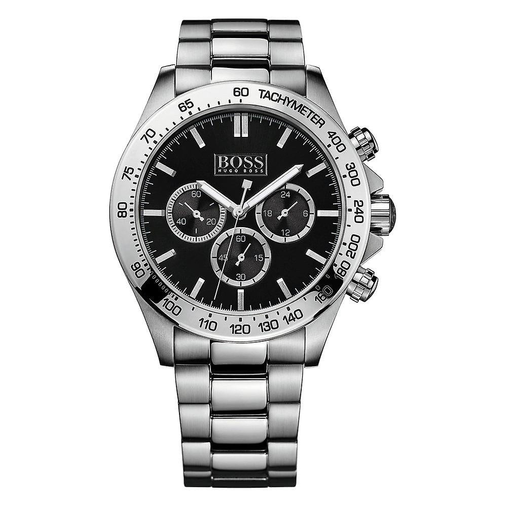 Hugo Boss Ikon Chronograph Black Dial Men's Watch 1512965