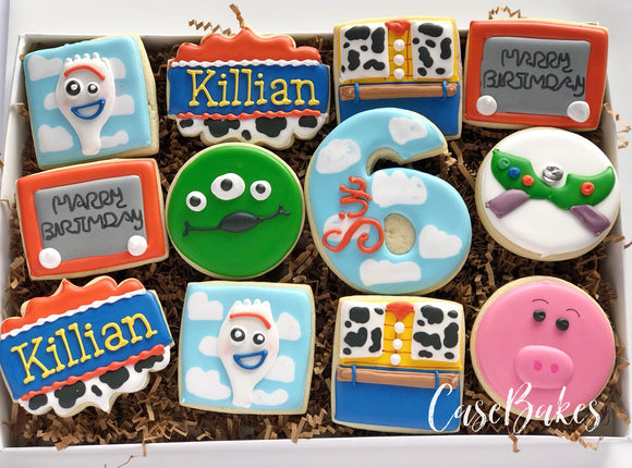 Toy Story themed Cookies - 1 dozen