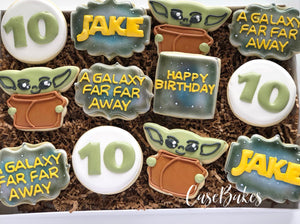 Baby Yoda themed birthday - 1 Dozen
