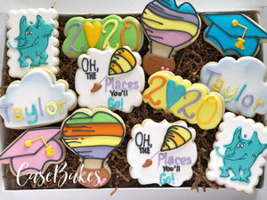 Oh The Places You'll go graduation - 1 Dozen