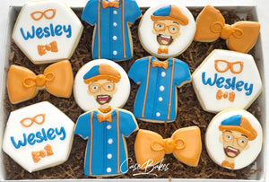Blippi Birthday Cookies - 1 Dozen