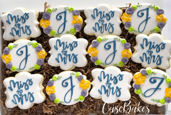 Bridal Shower Miss to Mrs. - 1 Dozen