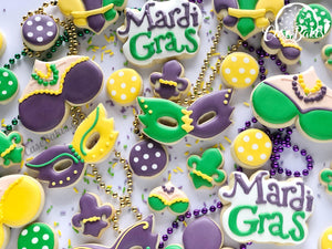 Mardi Gras Party platter