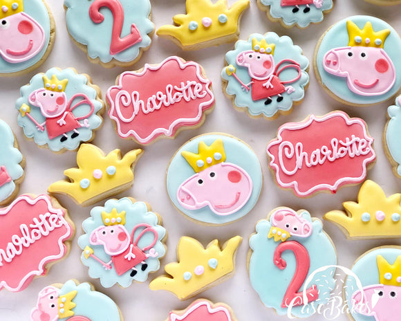 Peppa pig birthday - 1 dozen