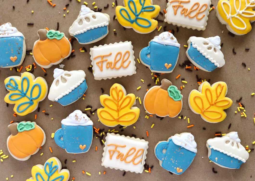 Fall Spice Mini Cookies - 2 dozen