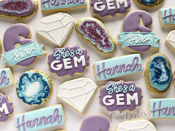 Gemstone birthday - 1 dozen