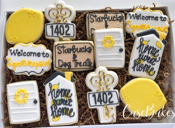Welcome Home Set Lemon themed - 1 dozen