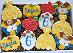 Beauty & Beast Inspired Birthday - 1 Dozen