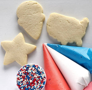 4th of July Decorate your own Cookies