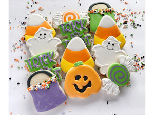Halloween decorated cookies - 1 Dozen
