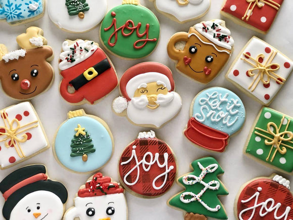 Bakers Choice Christmas Cookies - 1 Dozen