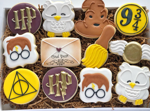 Harry Potter Cookies - 1 Dozen