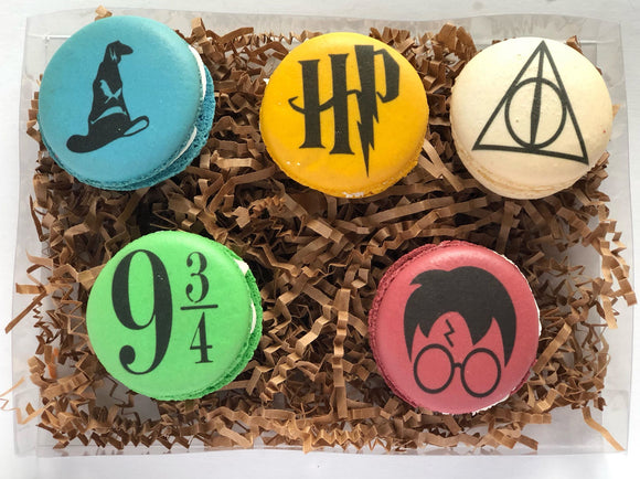 Harry Potter Macrons - 5 Piece