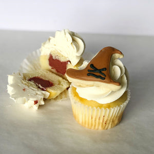 Harry Potter Sorting Hat Cupcakes