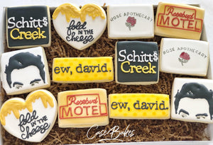 Schitts Creek Cookies - 1 Dozen