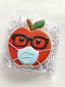Apple w/Mask - 1 Cookie