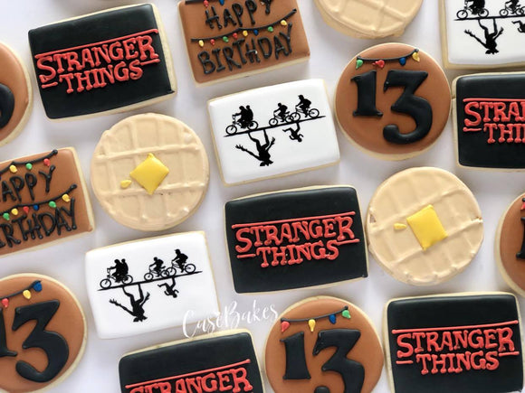 Stranger Things Cookies - 1 Dozen